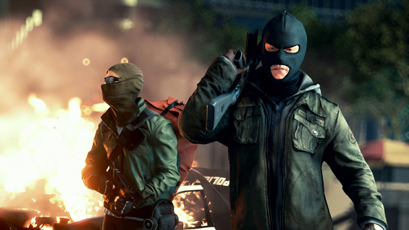 Battlefield Hardline: now with even more explodey vehicles.