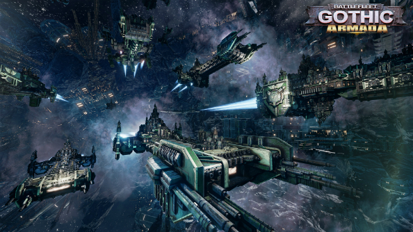 Battlefleet Gothic: Armada Space Marines dark angels