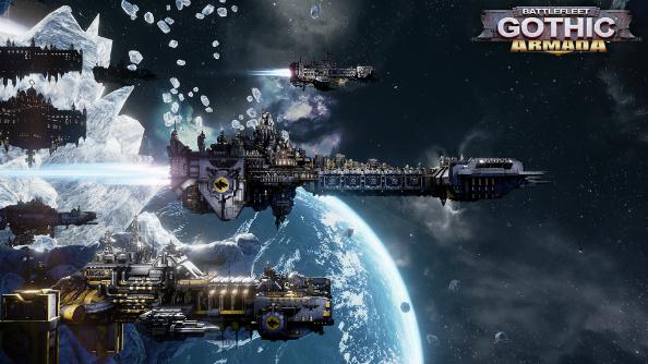 Battlefleet Gothic: Armada Space Marines Space wolves