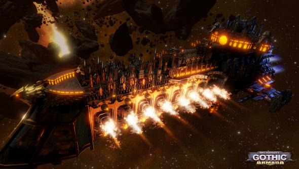 Battlefleet Gothic: Armada tindalos focus home interactive games workshop warhammer 40k