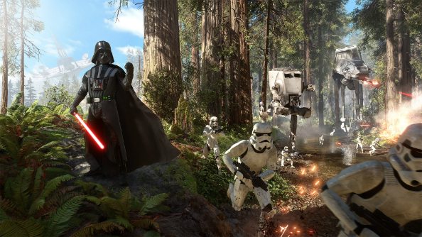 Star Wars Battlefront shows off every vehicle, hero, Star Card and gun, Force goes mental