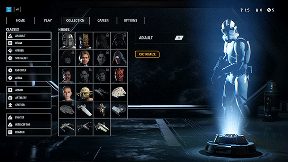 battlefront 2 hero unlock