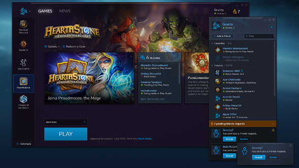 Goodbye Blizzard App, Battle.net is back