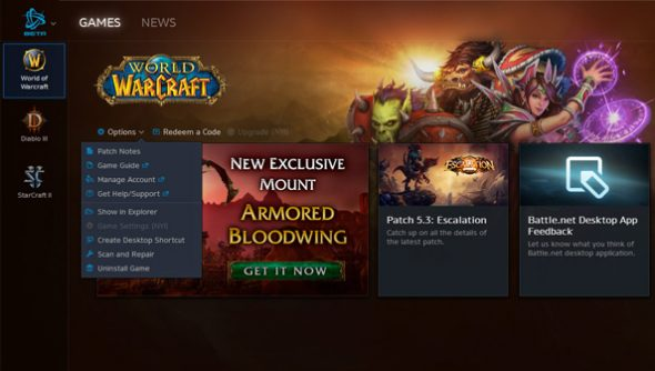 Blizzard show signs of movement on Battle net desktop client | PCGamesN