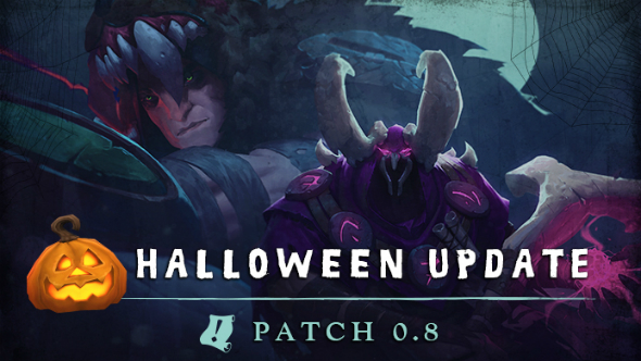 Battlerite's massive Halloween update adds two new champs and spooky chests