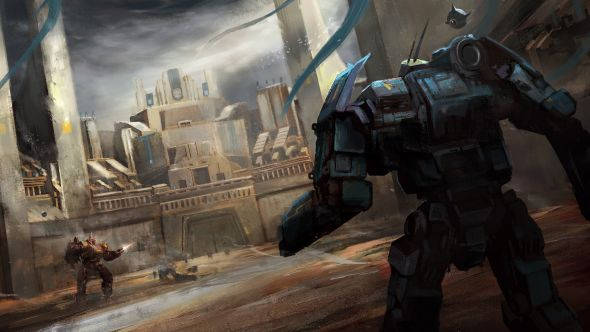 Melee attacks and merch come to Battletech - buy clan banners to hang from your walls