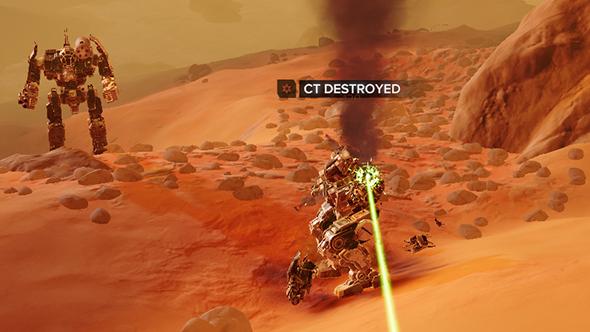 battletech destroyed