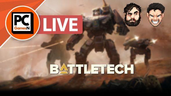 Battletech gameplay stream