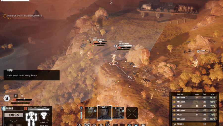 battletech line of sight