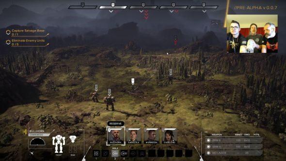 Battletech pre-alpha video