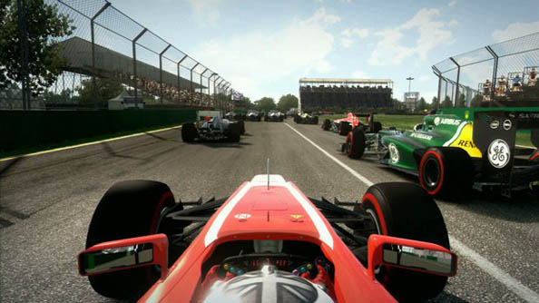 Best Racing Games Driver F1 2013