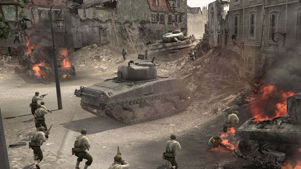 best world war 2 games pc company of heroes