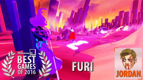 Best games of 2016 Furi