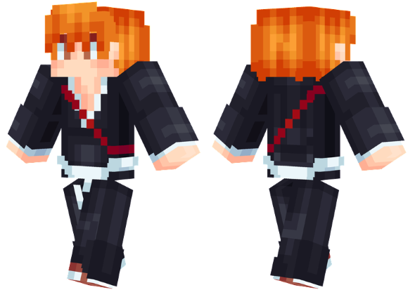best minecraft skins ichigo