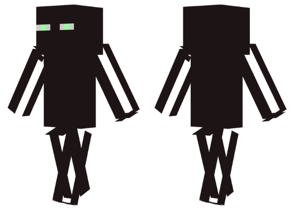 best mine craft skins enderman