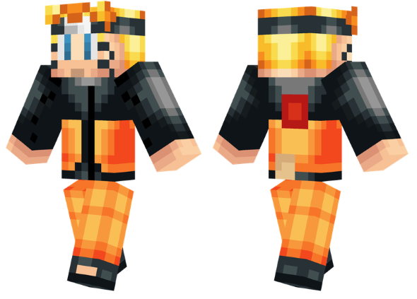 best minecraft skins naruto