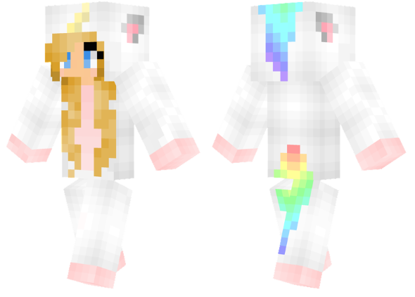 best minecraft skins unicorn