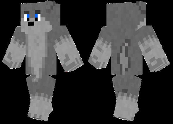 best minecraft skins wolf