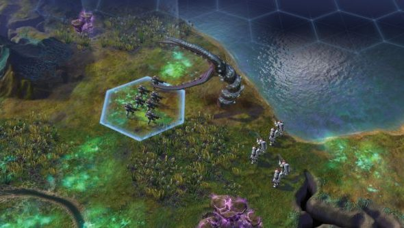 The aliens might look testy, but Harmony players will be able to tame them late on in Beyond Earth.
