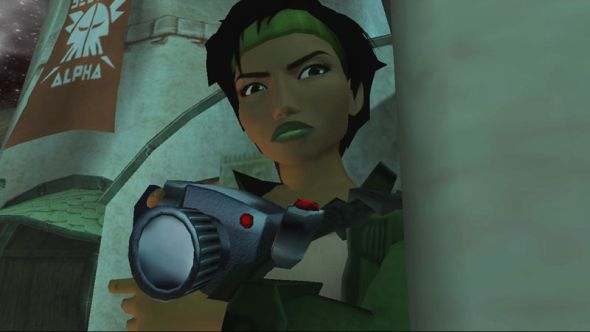 Protagonist Jade, as she appeared in the original