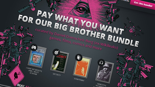 Big Brother bundle promotes privacy and cheap games