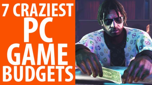 Biggest game budgets
