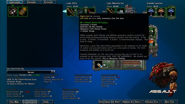 Bionic Dues Arcen Games