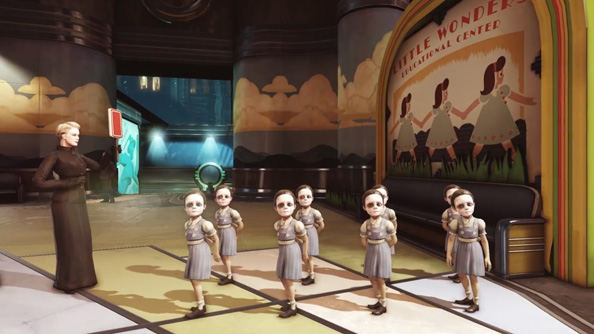 Which Little Sister will appear on the BioShock OST? Elvis Presley or Queens of the Stone Age?