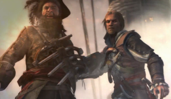 It's a pirate life for Kenway in Assassin's Creed 4 Blag Flag naval trailer