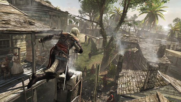 This is what an Assassin's Creed 4: Black Flag box looks like
