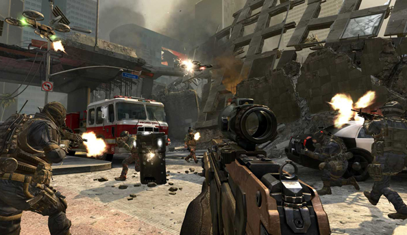 Black Ops 2: Revolution DLC rises up today; double weapon XP all weekend
