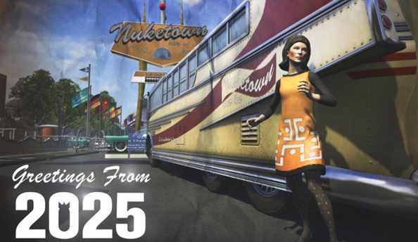 Black Ops 2 Nuketown 2025 map returns in playlist after brief hiatus