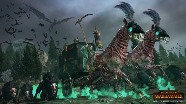 Total War: Warhammer trailer shows off an in-progress Vampire Counts campaign