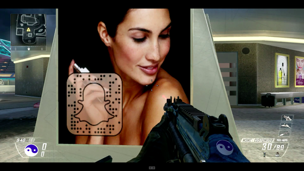 Treyarch's started a Snapchat-based ARG in Black Ops 2. Potentially teasing Black Ops 3