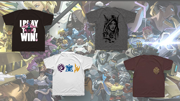 Win an Overwatch, StarCraft, World of Warcraft, or Hearthstone T-shirt!