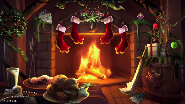 blizzard release video of murlocs gargling over christmas songs for an hour happy holidays pcgamesn - World Of Warcraft Christmas
