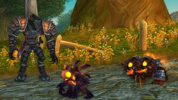 World of Warcraft: one of four lucky games to be plagued by disconnections this morning.