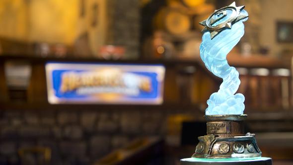 Blizzard eSports Hearthstone trophy