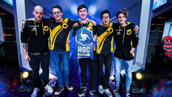 Blizzard eSports HOTS winners