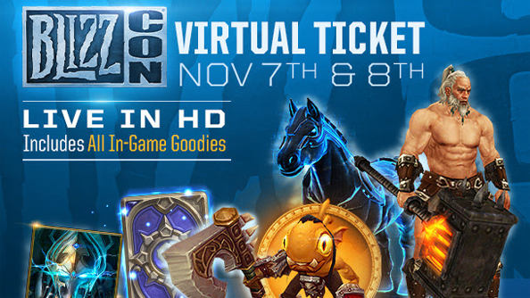 Buy a BlizzCon 2014 virtual ticket for loot in WoW, Diablo III, StarCraft II and Hearthstone