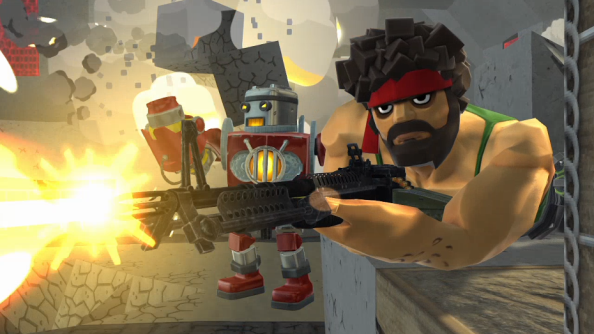 Block 'n' Load is an unholy marriage of Minecraft and Team Fortress 2. And it's good