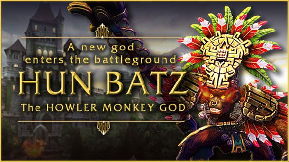 SMITE gets revamped hero called 'Hun Batz', has very calm lady narrate his adventures