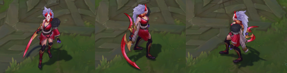 Blood Moon Diana in-game