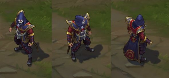 Blood Moon Twisted Fate in-game