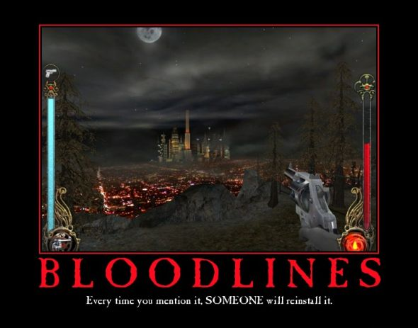 A now decade-old meme about the lasting legacy of Bloodlines