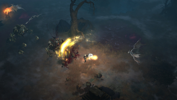 You've got red on you: First Look at Reaper of Souls' Blood Marsh