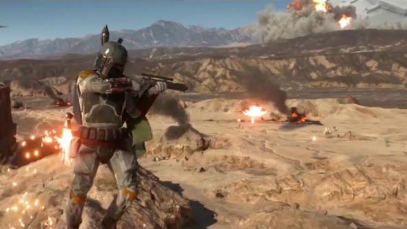 Star Wars Battlefront trailer shows off new gameplay, Boba Fett flames dudes