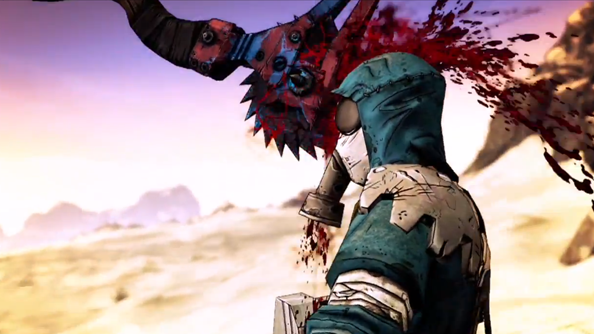 Borderlands 2 video shows how Krieg became a vault hunter and... meat bicycle