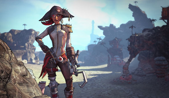 Borderlands 2 DLC Captain Scarlett and her Pirate's Booty announced, out October 16th