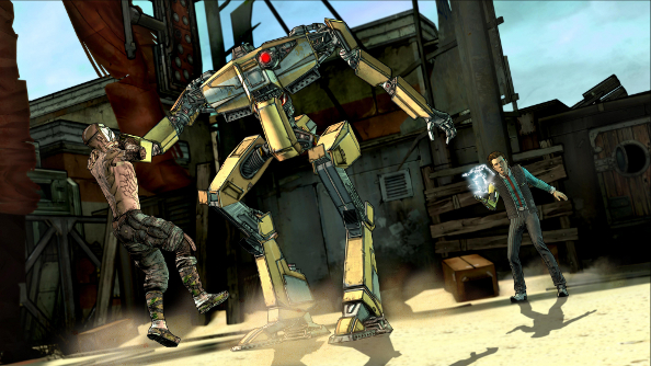 Telltale spills the Tales from the Borderlands beans